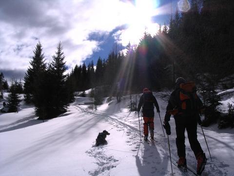 Foto: Andreas Koller / Ski Tour / Von Tweng auf den Rosskogel (2149 m) / Schöne N-seitige Anstiege im Pulverschnee / 05.02.2007 21:36:27