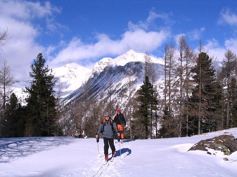 Foto: Andreas Koller / Ski Tour / Von Tweng auf den Rosskogel (2149 m) / Berge rund um den Radstädter Tauernpass / 05.02.2007 21:36:07