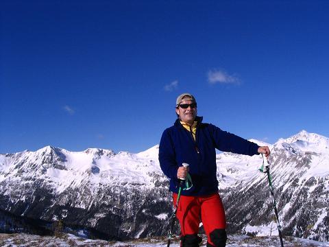 Foto: Andreas Koller / Ski Tour / Von Tweng auf den Rosskogel (2149 m) / Rast 150 Hm unter dem Gipfel des Rosskogels / 05.02.2007 21:35:31