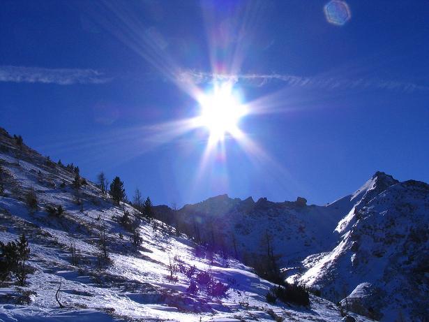 Foto: Andreas Koller / Ski Tour / Von Tweng auf den Rosskogel (2149 m) / Das Hochtal um das Weißeneck / 05.02.2007 21:35:23