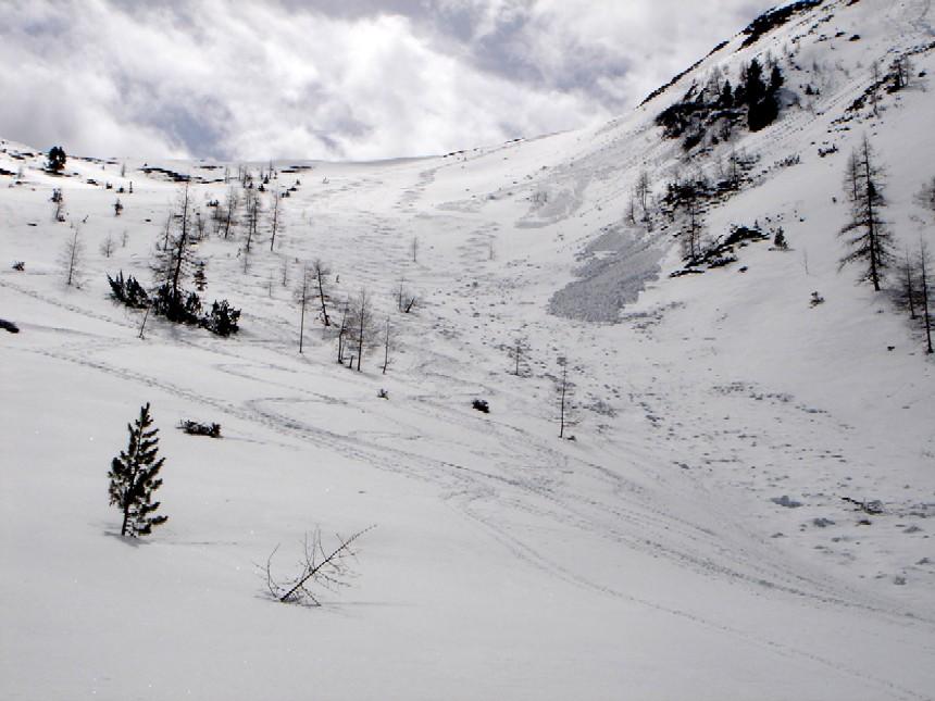 Foto: Manfred Karl / Skitour / Scheibleck (2117m) / Weitläufige nord- bis nordwestseitige Hänge oberhalb der Pleschnitzalm. / 07.02.2007 08:42:00