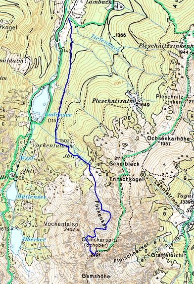 Foto: Manfred Karl / Ski Tour / Gamskarspitz (2491m) / 14.02.2007 06:25:54