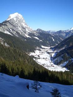 Foto: oett / Ski Tour / Gscheideggkogel / Tourstart vom Radmertal aus / 10.02.2007 20:00:56