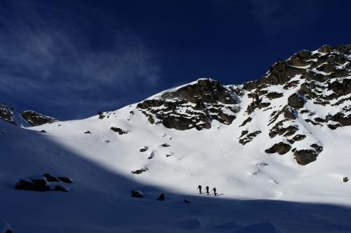 Foto: Christian Suschegg / Ski Tour / Über die Ebenbachalm auf den Hochwart (2301m) / Unterwegs im Nordkar in faszinierender, alpiner Umgebung. / 11.02.2007 21:05:18