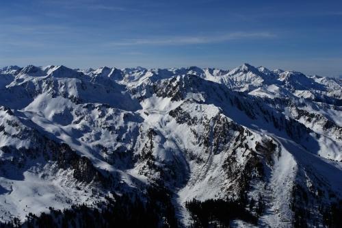Foto: Christian Suschegg / Ski Tour / Über die Ebenbachalm auf den Hochwart (2301m) / Hervorragende Ausblicke in die Gipfelwelt der benachbarten Schladminger Tauern. / 11.02.2007 21:08:20
