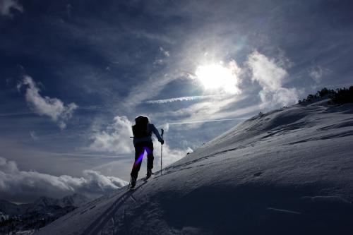 Foto: Christian Suschegg / Ski Tour / Ahornkogl (2001m) / Der Sonne entgegen / 12.02.2007 19:33:07