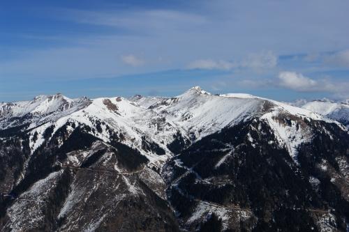 Foto: Christian Suschegg / Ski Tour / Ahornkogl (2001m) / Blick nach Norden zum Schreinl / 12.02.2007 19:30:00