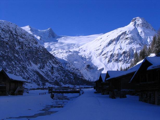 Foto: Andreas Koller / Skitour / Innergschlöss und Zeigerpalfen (2506 m) / Innergschlöss und Schlatenkees / 12.02.2007 19:35:52