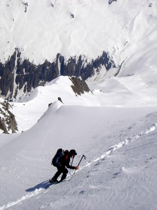 Foto: Manfred Karl / Ski Tour / Habachspitze (3064m) / Die allerletzten Meter. / 13.02.2007 20:34:55
