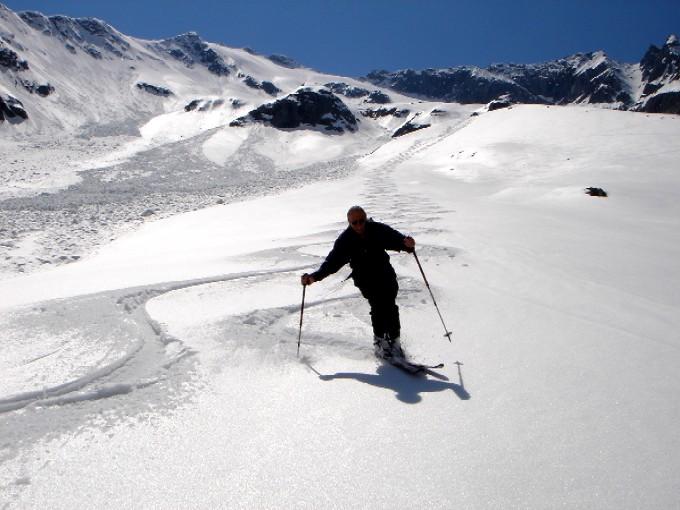 Foto: Manfred Karl / Ski Tour / Habachspitze (3064m) / Endloser Genuss ist der Lohn für die Aufstiegsmühen. / 13.02.2007 20:40:39