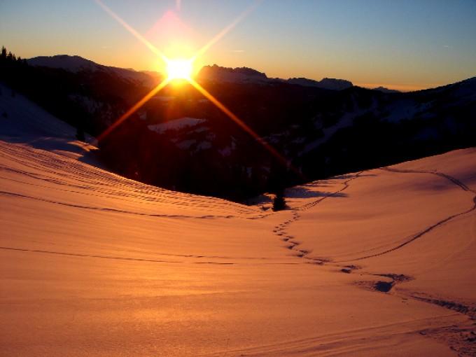 Foto: Manfred Karl / Ski Tour / Peitingköpfl (1720m) / Peitingköpfl - immer wieder schön. / 13.02.2007 21:18:07