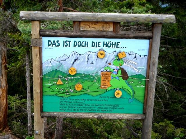 Foto: Manfred Karl / Klettersteig Tour / Kali-Steig über den Gämsenturm / Das ist doch die Höhe! / 13.02.2007 21:40:48