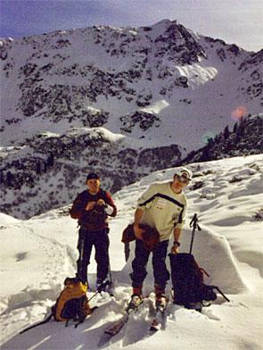 Foto: Verkehrsverein Lesachtal / Ski Tour / Spitzköfele (2314m) / 14.02.2007 13:28:18