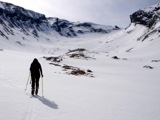 Foto: Manfred Karl / Ski Tour / Pleißnitzkogel (2536m) / Auch bei wenig Schnee eine runde Sache. / 14.02.2007 22:55:23