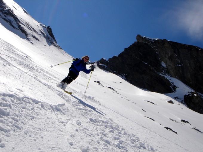 Foto: Manfred Karl / Ski Tour / Pleißnitzkogel (2536m) / Schaut steiler aus als es ist ;-) / 14.02.2007 23:03:56
