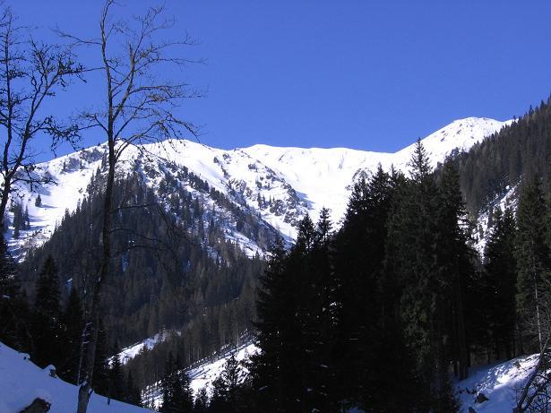 Foto: Andreas Koller / Skitour / Seekoppe (2150m) / Im hintersten Gullinggraben / 18.02.2007 23:50:20