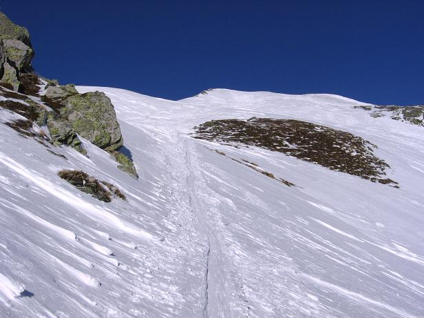 Foto: Andreas Koller / Skitour / Seekoppe (2150m) / Annäherung von SW / 18.02.2007 23:45:09