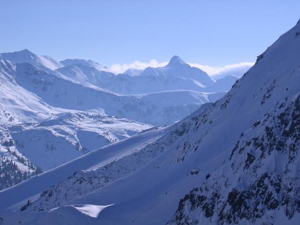 Foto: Andreas Koller / Skitour / Seekoppe (2150m) / Von der scharfen Wand Blick nach S zum Hohenwart / 18.02.2007 23:46:09