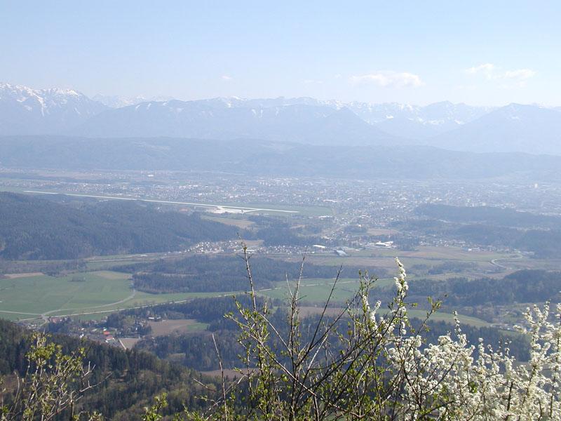 Foto: mongfevned / Mountainbike Tour / Klagenfurt - Ulrichsberg / aussicht / 20.04.2007 16:15:53