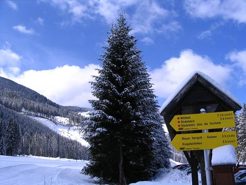 Foto: Andreas Koller / Ski Tour / Aus der Eisenerzer Ramsau auf drei Gipfel (2070 m) / Ausgangspunkt: Eisenerzer Ramsau / 12.03.2007 13:38:08