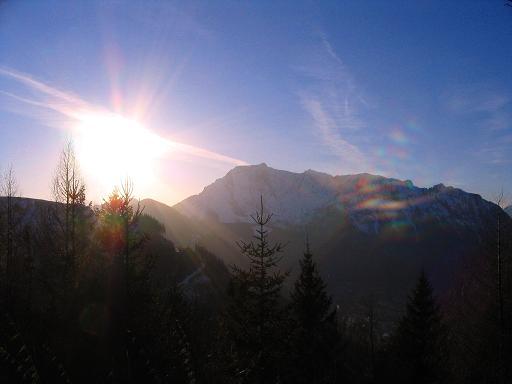 Foto: Andreas Koller / Skitour / Aus der Eisenerzer Ramsau auf drei Gipfel (2070 m) / Abendstimmung in den Eisenerzer Alpen / 12.03.2007 13:32:24