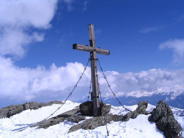 Foto: Andreas Koller / Ski Tour / Grindlspitze (2635m) und Rastkogel (2762m) / Blick nach O in die Kitzbüheler Alpen / 06.04.2007 11:06:18