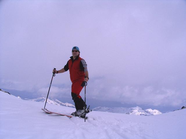 Foto: Andreas Koller / Skitour / Grindlspitze (2635m) und Rastkogel (2762m) / Am Hoarbergjoch / 06.04.2007 11:08:15