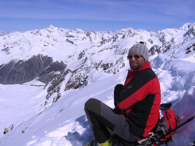 Foto: Andreas Koller / Ski Tour / Aus dem Falbanairtal auf Tiergartenspitze (3068 m)  und Mitterlochspitze (3174 m) / Weite Rundschau in die Ötztaler Alpen / 06.04.2007 19:04:23
