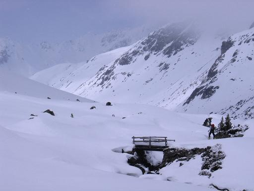 Foto: Andreas Koller / Ski Tour / Durch das stille Kaiserbergtal auf die Platzerspitze (3098m) / Wildbach im Kaiserbergtal / 06.04.2007 19:43:59
