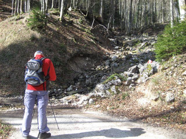 Foto: Alpinfreunde / Wander Tour / Von Weißenbach bei Strobl auf den Großen Sparber / 13.04.2007 19:54:30