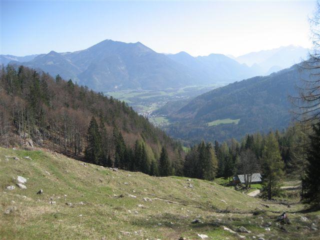 Foto: Alpinfreunde / Wander Tour / Von Weißenbach bei Strobl auf den Großen Sparber / 13.04.2007 19:54:50