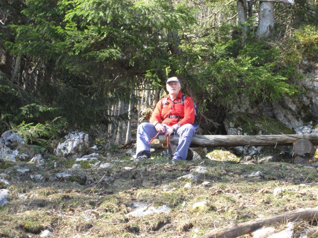 Foto: Alpinfreunde / Wander Tour / Von Weißenbach bei Strobl auf den Großen Sparber / 13.04.2007 19:55:04