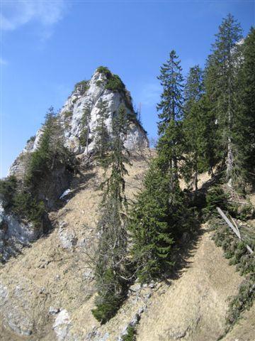 Foto: Alpinfreunde / Wander Tour / Von Weißenbach bei Strobl auf den Großen Sparber / 13.04.2007 19:55:21