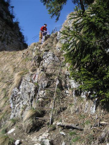 Foto: Alpinfreunde / Wander Tour / Von Weißenbach bei Strobl auf den Großen Sparber / 13.04.2007 19:55:51