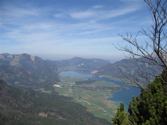 Foto: Alpinfreunde / Wander Tour / Von Weißenbach bei Strobl auf den Großen Sparber / 13.04.2007 19:56:51