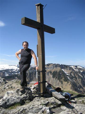 Foto: Alpinfreunde / Wander Tour / Von Weißenbach bei Strobl auf den Großen Sparber / 13.04.2007 19:57:26