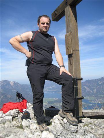 Foto: Alpinfreunde / Wander Tour / Von Weißenbach bei Strobl auf den Großen Sparber / 13.04.2007 19:57:42