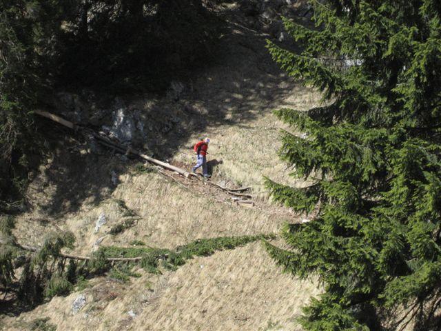 Foto: Alpinfreunde / Wander Tour / Von Weißenbach bei Strobl auf den Großen Sparber / 13.04.2007 19:57:49