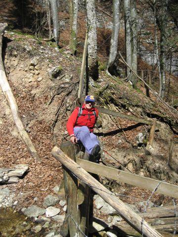Foto: Alpinfreunde / Wander Tour / Von Weißenbach bei Strobl auf den Großen Sparber / 13.04.2007 19:58:16
