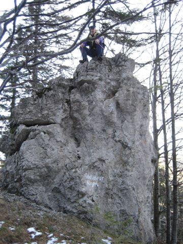 Foto: Jogal / Wander Tour / Von Steinbach am Ziehberg auf den Mittagstein / 19.04.2007 07:08:50