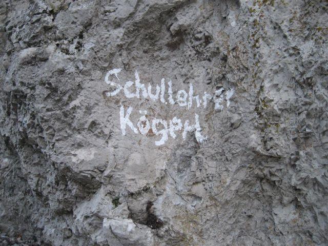 Foto: Jogal / Wander Tour / Von Steinbach am Ziehberg auf den Mittagstein / 19.04.2007 07:08:58