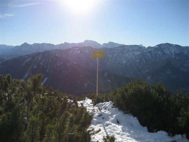 Foto: Jogal / Wander Tour / Von Steinbach am Ziehberg auf den Mittagstein / 19.04.2007 07:09:50