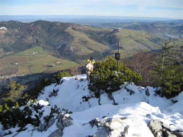 Foto: Jogal / Wander Tour / Von Steinbach am Ziehberg auf den Mittagstein / 19.04.2007 07:11:05