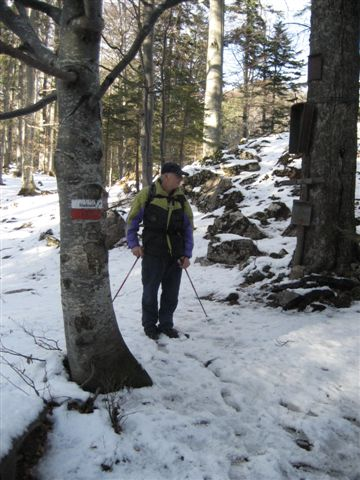Foto: Alpinfreunde / Wander Tour / Von Steinbach am Ziehberg auf den Mittagstein / 19.04.2007 07:11:39