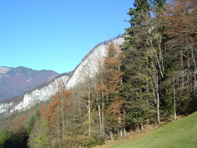 Foto: Alpinfreunde / Wander Tour / Von der Radluckn Hütte über die Ewige Wand auf den Predigstuhl / 19.04.2007 20:02:00