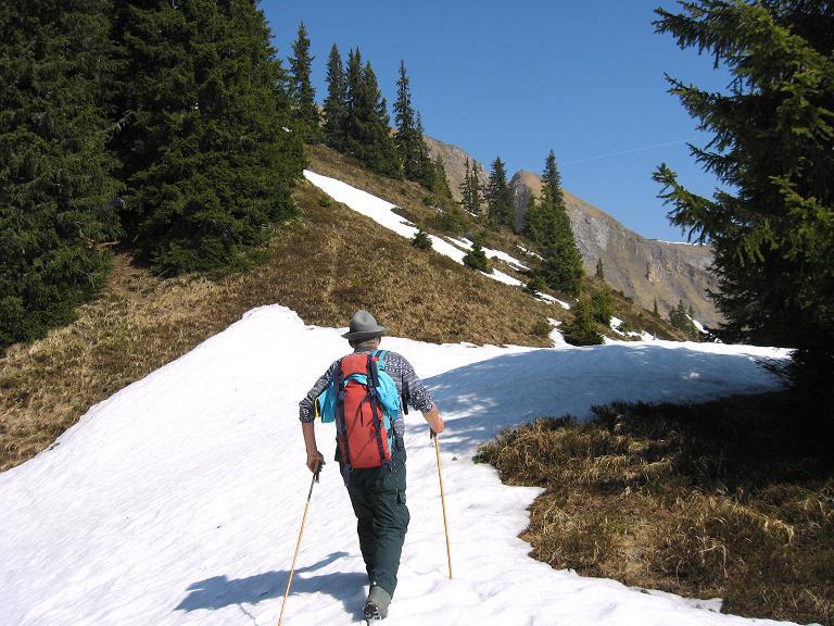 Foto: Andreas Koller / Wander Tour / Zeiritzkampel aus der Kurzen Teichen (2126 m) / Unmarkiert auf den Zeiritzkampel / 22.04.2007 14:32:36