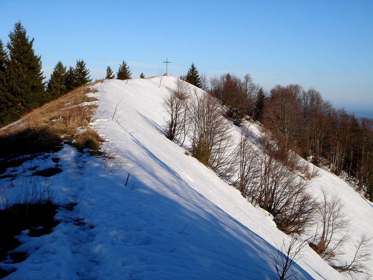 Foto: Manfred Karl / Wander Tour / Aus der Tiefbrunnau auf den Filbling / Gipfelgrat am Filbling / 25.04.2007 23:19:51