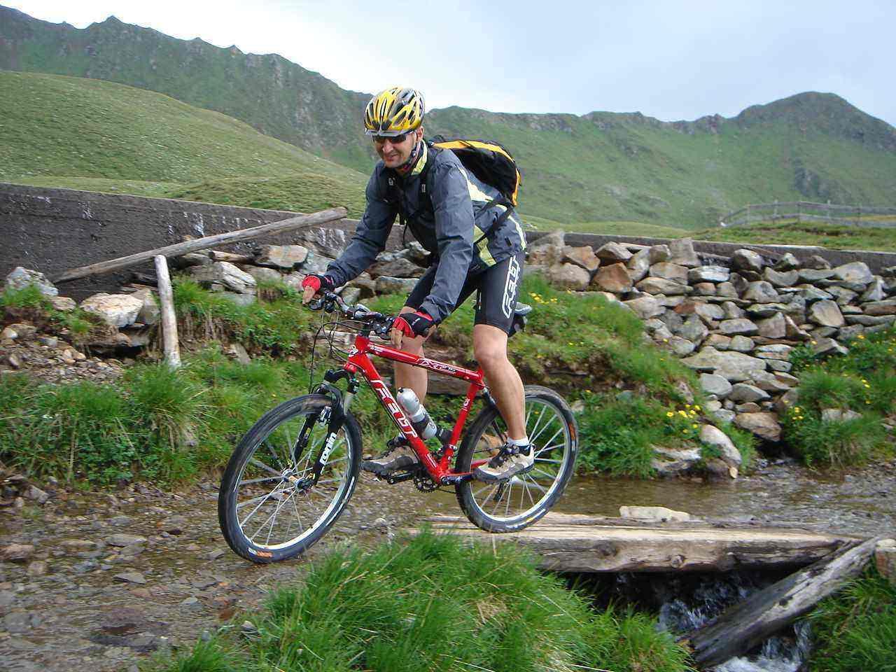 Foto: Manfred Karl / Mountainbike Tour / Von Virgen zum Zupalsee / Bei der Zupalseehütte / 26.04.2007 06:45:31