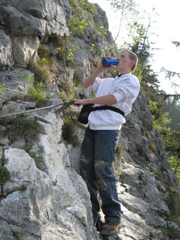 Foto: Alpinfreunde / Wandertour / Über den Naturfreundesteig auf den Traunstein / 29.04.2007 19:53:31