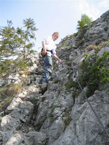 Foto: Alpinfreunde / Wandertour / Über den Naturfreundesteig auf den Traunstein / 29.04.2007 19:53:54